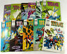 Lot de 11 BD Comic Titans 1990 a 1993  Edition Semic  Envoi rapide et suivi
