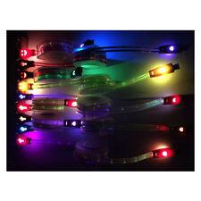 Retráctil resplandor LED USB Sync & Cable Cargador Cable Usb De Luz-Up Glow Para iPhone 7