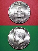 1976-S Uncirculated 40% Silver John Kennedy Half Dollar Flat Rate Shipping