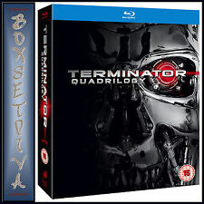 TERMINATOR - QUADRILOGY - 1 2 3 & 4 **BRAND NEW BLU-RAY BOXSET**