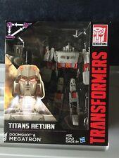 Transformers Titans Return Voyager Doomshot & Megatron NEW