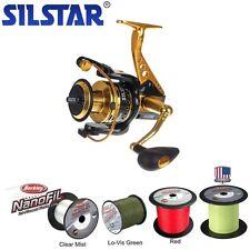 Silstar Allisa 5000 Speed mit Alurahmen + 300m Berkley NANOFIL HI-VIS 0,28mm