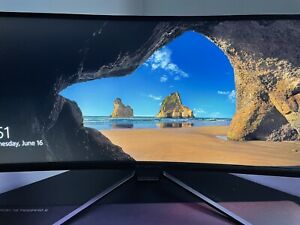 """Acer UM.CX0AA.P01 Predator X34 Pbmiphzx 34"""" 21:9 Curved IPS Gaming Monitor GSync"""
