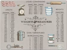 Creative Tops Weights Measurements Toughened Glass Work Surface Protector