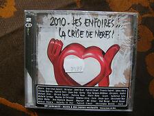 2 CD 2010 - LES ENFOIRES...LA CRISE DE NERFS!   Neuf Sous Blister