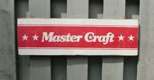 PRIMITIVE VINTAGE MASTER CRAFT BOAT REPLICA TRADE SIGN