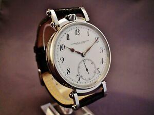 VACHERON & CONSTANTIN WATCH Co. Pocket Watch Movement In New Case.