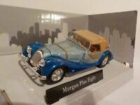 MORGAN PLUS EIGHT MODEL CAR 1:43 SCALE GREEN CARARAMA SPORTS NEW