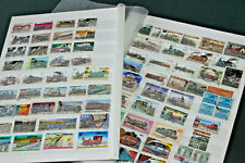 THEMATICS - TRAINS - BRITISH COMMONWEALTH COLLECTION ON 20 PAGES OF S/SHEETS