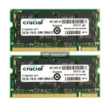 New 2GB 2x 1GB PC2700 DDR 333mhz 200Pin Sodimm Laptop Notebook Memory Ram