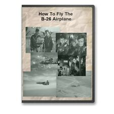 How To Fly The B-26 Marauder Airplane Training Film Martin B-26 Bomber E21