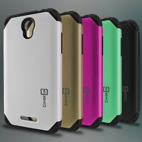 For ALCATEL One Touch Elevate Case - Hybrid Slim Tough Phone Cover