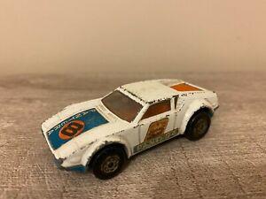 Vintage 1975 Matchbox no.8 De Tomaso Pantera Race Car