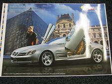 Poster Mercedes-Benz Vision SLR (JS)