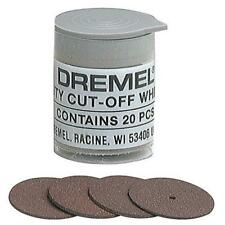 DREMEL 420 CUTTING OFF DISC WHEEL 24MM DIAMETER 1MM THICK **PACK OF 20**