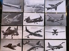 106 Military & Other Aircraft Mutoscope Arcade Cards Series Pc Air Force Marine