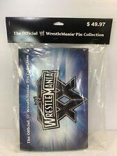 OFFICIAL WWE WRESTLEMANIA PIN COLLECTION WRESTLEMANIA XX 20 PIN SET BRAND NEW