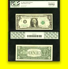 1963 Pcgs 55 Doubled Overprint Ppq Rare One Dollar $1