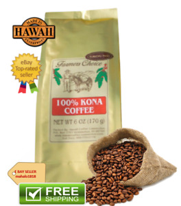 Farmers Choice 100% Kona Coffee 12 oz | Made In Hawaii | Free Shipping