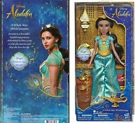 New Disney Princess Aladdin Singing Jasmine Doll Figure Brand New
