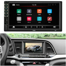 Bluetooth 2Din 7in Touch Screen Aux USB Car Stereo MP5 Player AM FM Radio WINCE