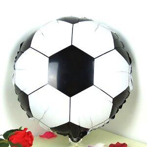"18"" Football Helium Balloon Birthday Party Soccer Ball Celebration Boys New"