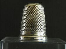 Ancien Dé à coudre en argent / antique silver thimble