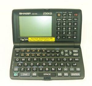 SHARP WIZARD DAY-TIMER ORGANIZER OZ-570PC — open box