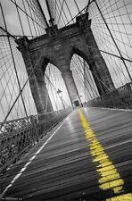 BROOKLYN BRIDGE - POP POSTER - 22x34 NEW YORK CITY NYC PHOTO 13679
