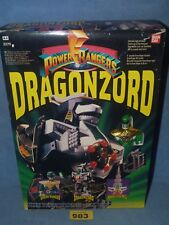 "POWER RANGERS TOMMYS  DELUXE MMPR ""DRAGONZORD"" MEGAZORD 100% 983"