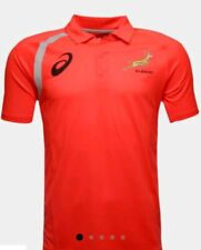 Asics  South Africa Springboks Performance Rugby Polo Shirt 2X Large BNWT