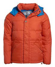 BNWOT Mens Superdry Standard Hooded Mountain Jacket XL Alloy Orange Defective