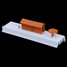 1:87 Waiting Room Architectural Model Building Kit Street Scenery Diorama HO