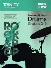 TRINITY ROCK & POP SESSION SKILLS Drums Gr 3-5 +CD