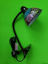 Vera Bradley Clip On Desk Lamp Design Lola Pattern Great For Dorm Room /Crafting