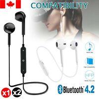 Wireless Bluetooth Earphones Headphones Compatible For iPhone 11 8 7 6 5 X Xs XR