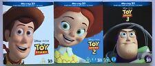 Toy Story 1-3  ( 3D Blu Ray,Trilogy)