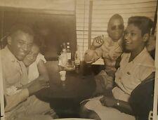 VINTAGE AFRICAN AMERICAN BLACK HISTORY JAZZ CLUB SOLDIER PEPSI COLA BOTTLE PHOTO