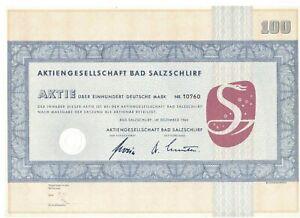 AG Bad Salzschlirf  100DM   1964