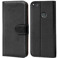 Schutz Hülle Für Huawei P8 Lite 2017 Handy Klapp Schutz Tasche Book Flip Case