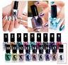 17-Colors Womens Fashion Mirror Nail Polish Metallic Makeup Cosmetic Nail Art