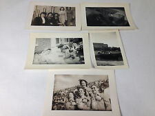 Sorority Sisters Original Amateur Photos 1944 Homecoming, Sunbathing, Crusing