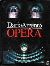 TERROR AT THE OPERA - (3 Disc Limited Edition MediaBook + Blu Ray & Dvd's )