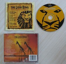 CD ALBUM THE LION KING ORIGINAL BRODWAY CAST RECORDING ELTON JOHN HANS ZIMMER