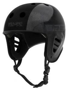 Pro-Tec Full Cut Certified Hosoi Helmet, Metallic Black