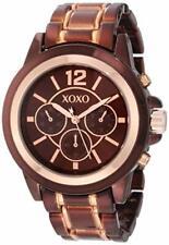 XOXO Women's XO5590 Brown and Rose Gold Bracelet Watch