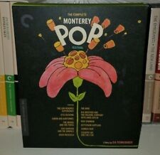 Criterion Collection bluray The Complete Monterey POP Festival - 2017
