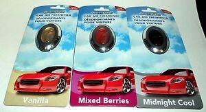1 Driver's Choice Car Air Freshener Long Lasting Assorted Fragrances NIP