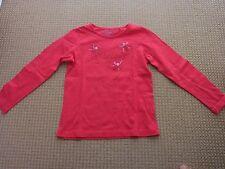 ESPRIT  Langarmshirt Gr. 116-122 in Pink   Wie NEU