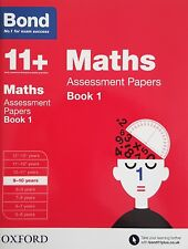 Bond 11+: Maths Assessment Papers 9-10 years - Book 1 | NEW